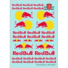"GENERIC DECALS ""RED BULL"""