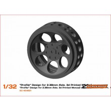 3D WHEELS 16,5 x 8mm. MONZA-2