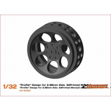 3D WHEELS 15,8 x 8mm. MONZA-2