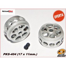 ALUMINIUM WHEELS LIGHTWEIGHT PKS (1/24) ( 17 X 11mm.)
