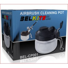 AIRBRUSH CLANING POT