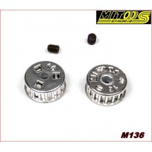 PULLEYS MXL NYLON Z16