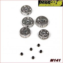 SET PULLEYS MXL NYLON