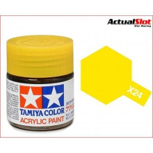 TAMIYA X-24 CLEAR YELLOW 10ML.