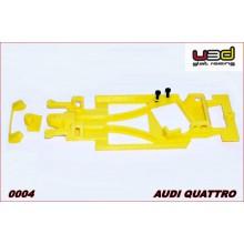 CHASIS 3D AUDI QUATTRO (SCALEXTRIC - ANGLEWINDER)