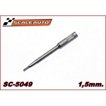 1,5mm. ALLEN REPLACEMENT SHORT BIT