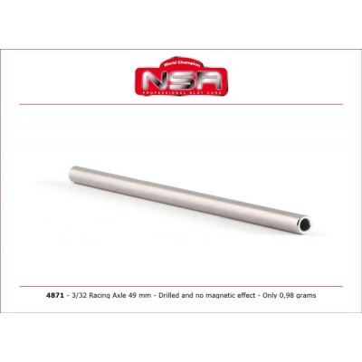 RACING AXLE 49mm DRILLED