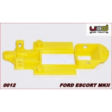 CHASSIS 3D FORD ESCORT MKII (SCALEXTRIC - IN-LINE)