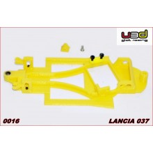 CHASSIS 3D LANCIA 037 (FLY SLOT CAR - ANGLEWINDER)