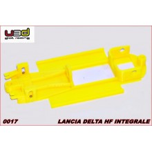 CHASSIS 3D LANCIA DELTA HF INTEGRALE (SCALEXTRIC - IN-LINE)
