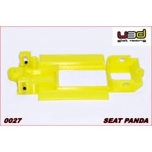 CHASSIS 3D SEAT PANDA (SCALEXTRIC - IN-LINE)