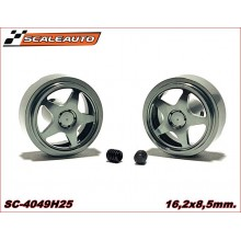 ALUMINIUM WHEELS 16,2 x 8,5mm. SEBRING