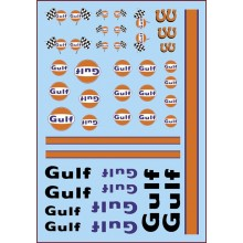 "GENERIC DECALS ""GULF"""