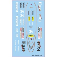 DECALS - ZAKSPEED 891 - BRITISH GP
