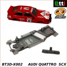 CHASSIS 3D AUDI QUATTRO (SCALEXTRIC - ANGLEWINDER)