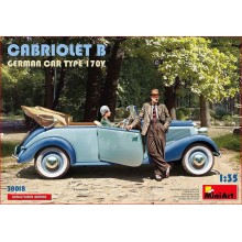 KIT 1/35 CABRIOLET B GERMAN CAR TYPE 170V
