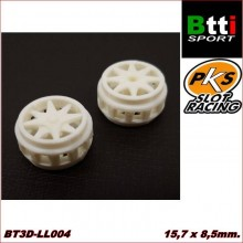 3D WHEELS 15,7 x 8,5mm. TIPS