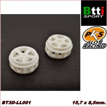 3D WHEELS 15,7 x 8,5mm. 5 ARMS