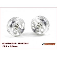 ALUMINIUM WHEELS 16,9 x 8,5mm. MONZA-2