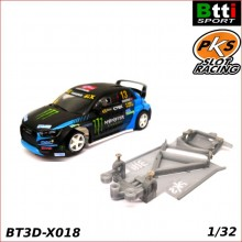 XASSIS 3D AUDI S1 WRX (SCALEXTRIC - ANGLEWINDER)