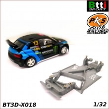 CHASSIS 3D AUDI S1 WRX (SCALEXTRIC - ANGLEWINDER)