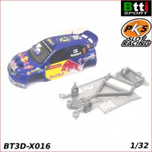 CHASIS 3D SKODA FABIA WRC (SCALEXTRIC - ANGLEWINDER)