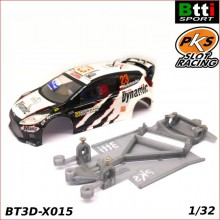 CHASIS 3D FORD FIESTA WRC (SCALEXTRIC - ANGLEWINDER)
