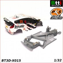 XASSIS 3D FORD FIESTA WRC (SCALEXTRIC - ANGLEWINDER)