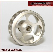 ALUMINIUM WHEELS URANO CHAMPAGNE (16,9 x 8,5mm.)