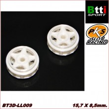 "3D WHEELS 15,7 x 8,5mm. ""MOD. 5 ARMS"""