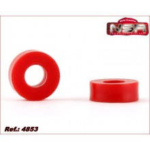 3/32 AXLE SPACERS - 2mm. LIGHTWEIGHT PLASTIC