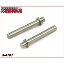MINICARS REAR AXLES SET FOR BRASS JOINT - 25mm.