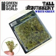 TALL SHRUBBERY - WHITE GRREN