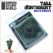 TALL SHRUBBERY - BLUE GRREN
