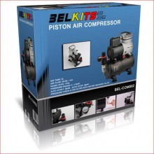 PISTON AIR COMPRESSOR FOR AIRBRUSH