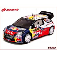 CITROËN DS3 WRC (WINNER GERMAN RALLY 2011)