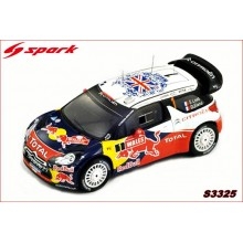 CITROËN DS3 WRC (Nº 1 WORLD CHAMPION WRC 2011)