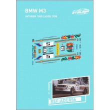 DECALS 1/32 BMW M3 (RALLY 1000 LAKES 1988)