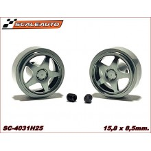 ALUMINIUM WHEELS 15,8 x 8,5mm. SEBRING