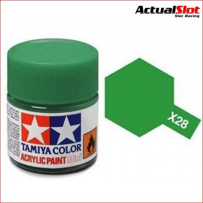 TAMIYA X-28 PARK GREEN 10ML.