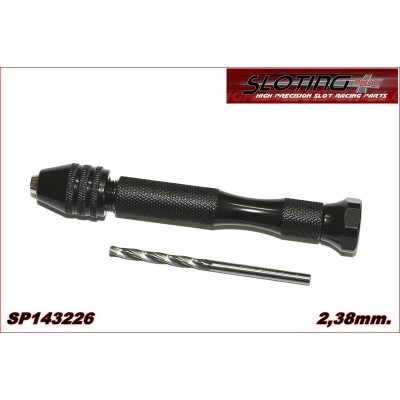 KIT DRILL CHUCK SCREWDRIVER WITH REAMER 2,38mm