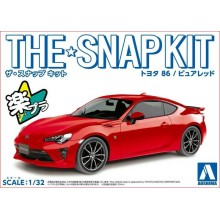 SNAP KIT 1/32 TOYOTA 86 PURE RED