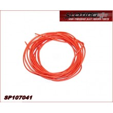 Electric SILICONE cable oxygen free (OFC) ORANGE