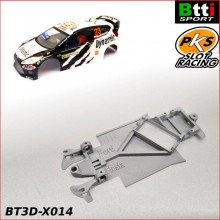 CHASIS 3D FORD FIESTA WRC  - CRR - (SCX - ANGLEWINDER)
