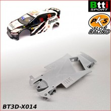 CHASSIS 3D FORD FIESTA WRC  - CRR - (SCX - ANGLEWINDER)