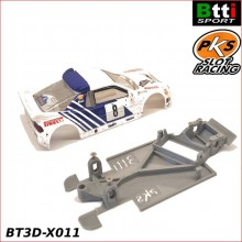 CHASIS 3D FORD RS200 (SCALEXTRIC - ANGLEWINDER)