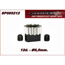 REMOVABLE PINION 6,5 x 12 TEETH STEEL
