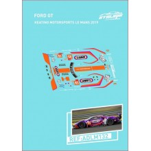 DECALS 1/32 FORD GT - LE MANS 2019