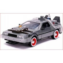 1/24 DELOREAN (BACK TO THE FUTURE III) WITH LIGHTS