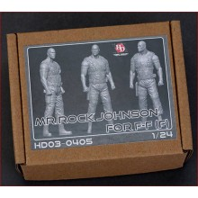 1/24 FIGURE MR. ROCK JOHNSON - FAST AND FURIOUS
